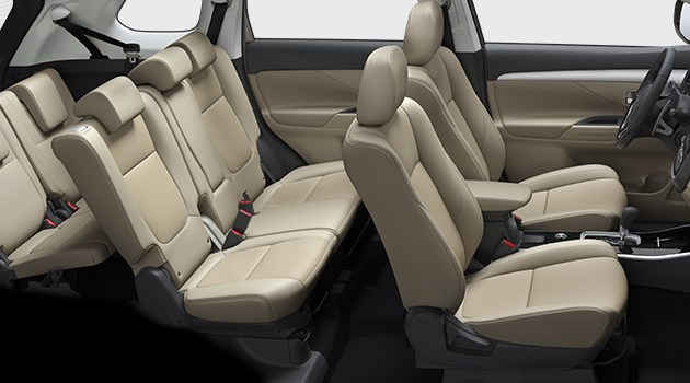 Mitsubishi to Launch 2017 Outlander in India Later This Year Interior Seating Space