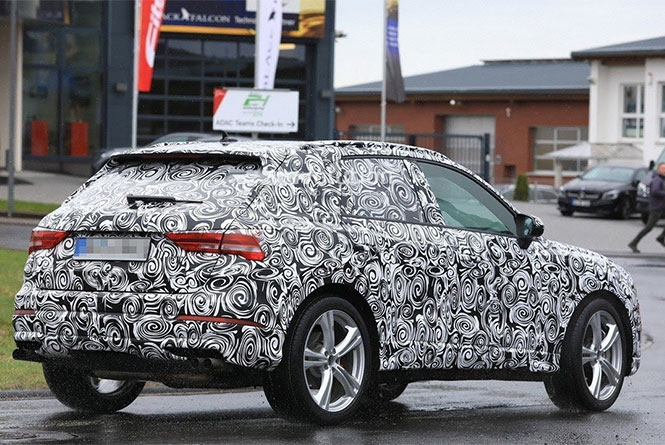 New Audi SQ3 SUV Rear