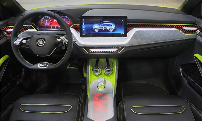 New-Skoda-SUV-Interior