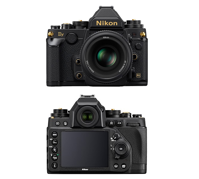 Nikon Df DSLR Gold-Plated Camera
