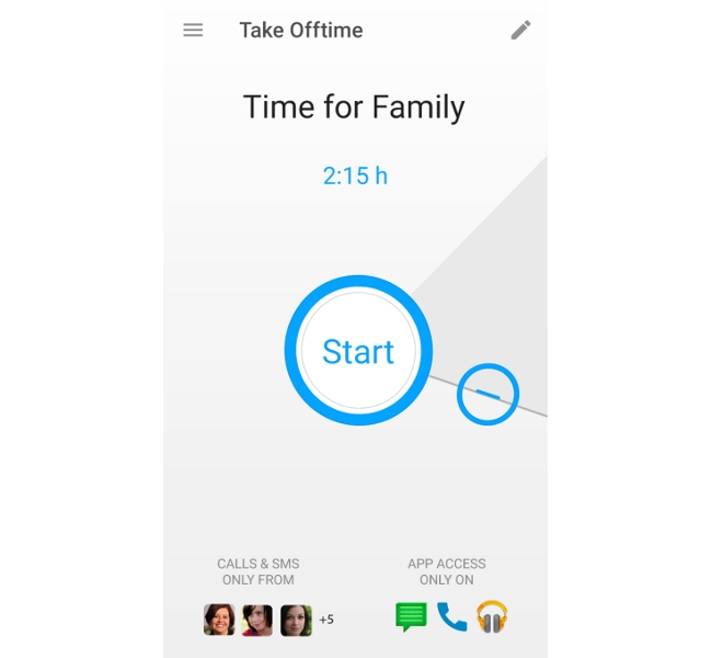 Offtime App