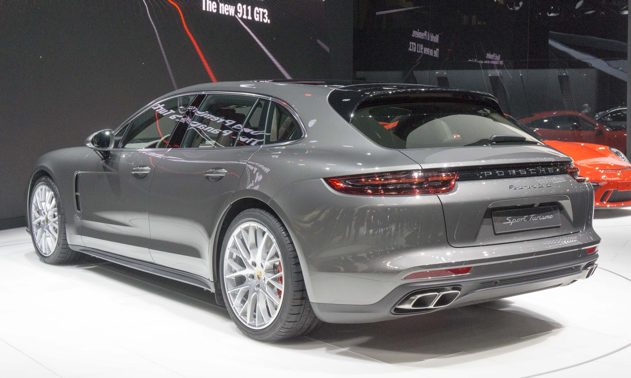 Porsche Panamera Sport Turismo Showcased at Geneva Motor Show