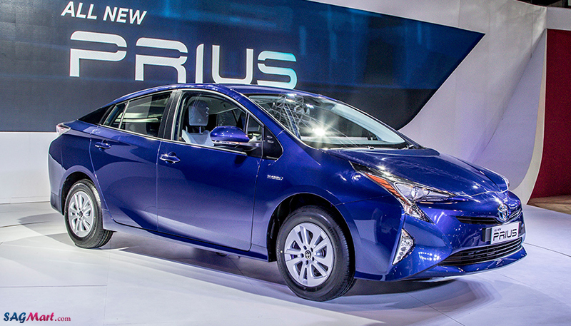 New Generation Toyota Prius at the 2016 Auto Expo