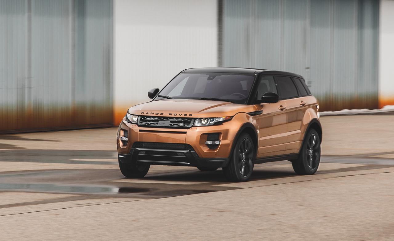 Range Rover Evoque Facelift Teased Before Geneva Event