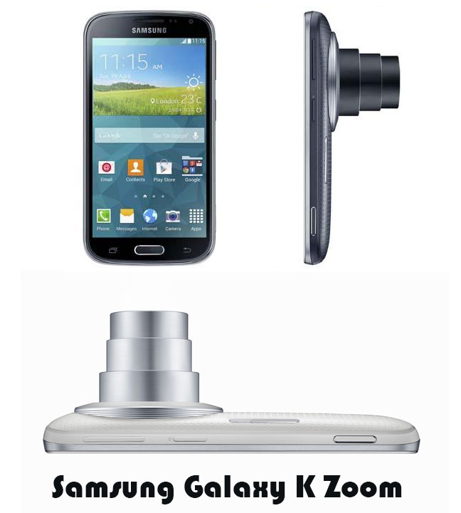 Samsung Galaxy K Zoom exclusively on Amazon