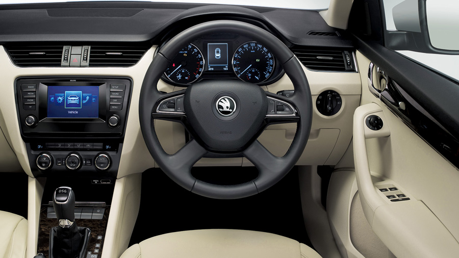 Skoda octavia 2013 price in india for Skoda octavia interior