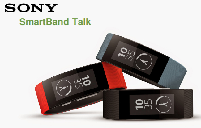 Sony Launches New SmartBand Talk and SmartWatch 3