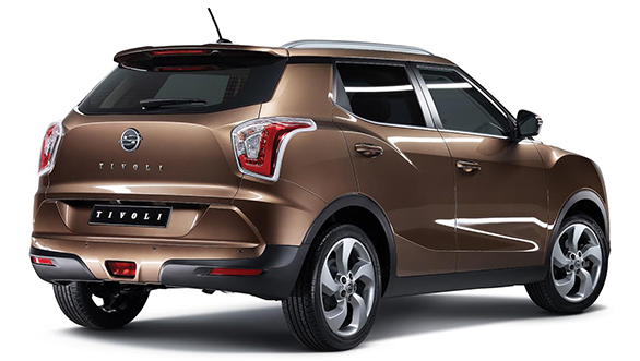 SsangYong Tivoli Brakes all Covers in Shanghai