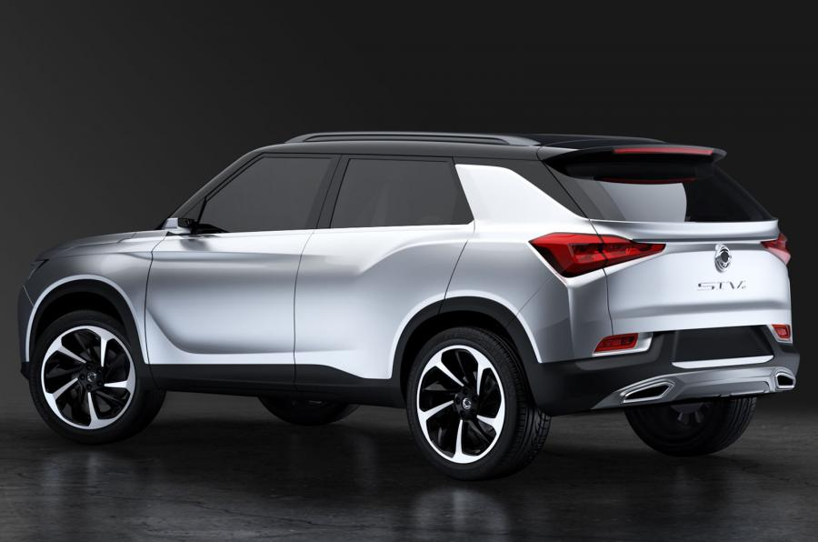Mahindra owned SsangYong SIV-2 comes with lightweight bodywork