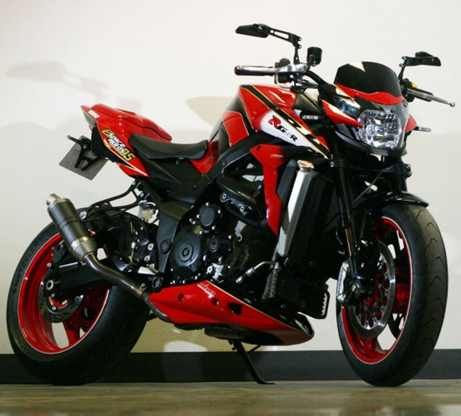 Suzuki GSR 1000 will be launching soon, images revealed