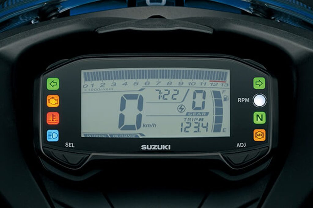 Fully digital instrument cluster fitment on both the bikes
