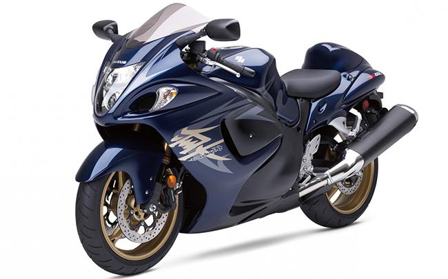 Hayabusa Suzuki Blue Bike Price