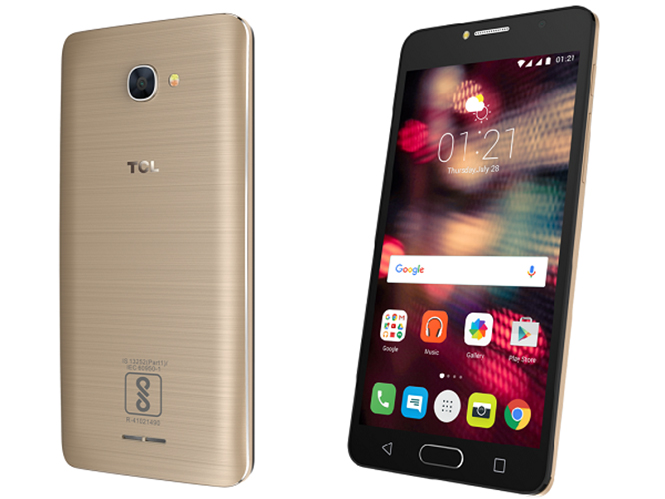 TCL 562 flaunts a 5.5-inch display
