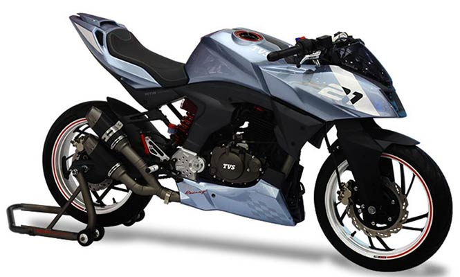 TVS to showcase Sporty Motorcycle Concept
