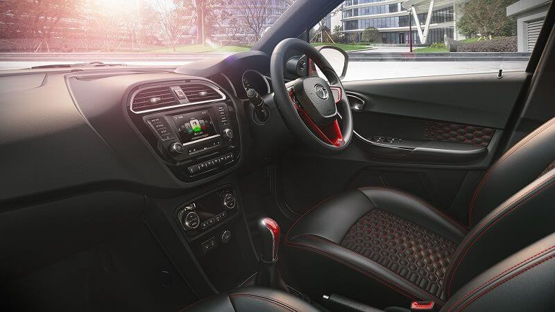 Tata Tigor Compact Sedan interior Dashboard Profile