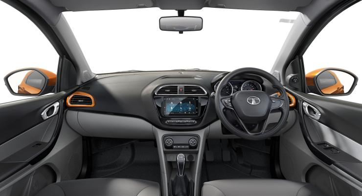 Tata tiago xz plus interior