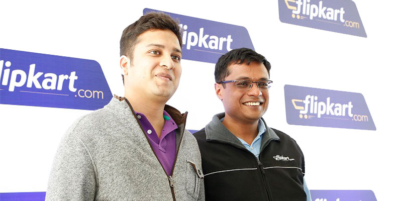The Flipkart is an Indian e-commerce site founded in 2007, by Sachin Bansal and Binny Bansal