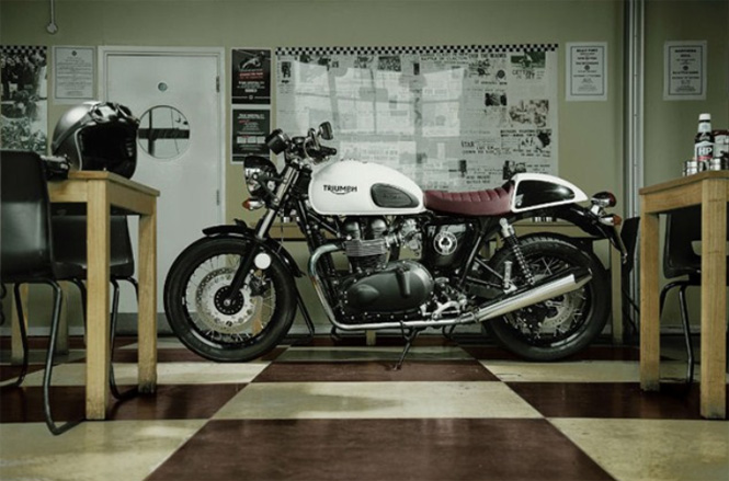 Triumph Thruxton Receives Special Edition Named Ace