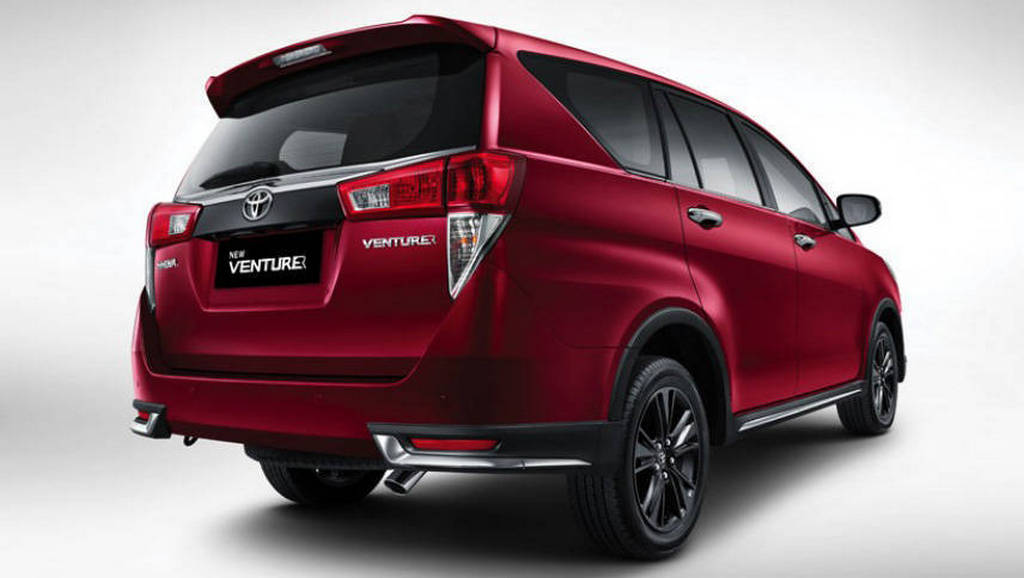 Toyota Innova Crysta Touring Sport India Launch Due for ...