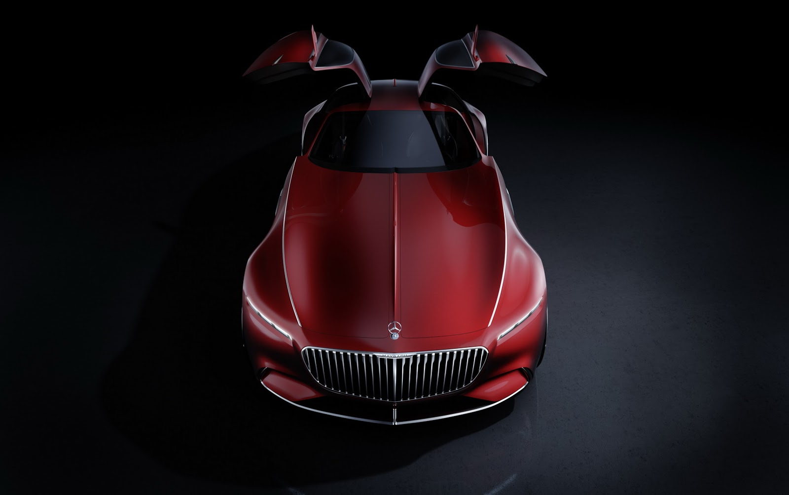 Vision Mercedes-Maybach 6 Concept Doors Open Style