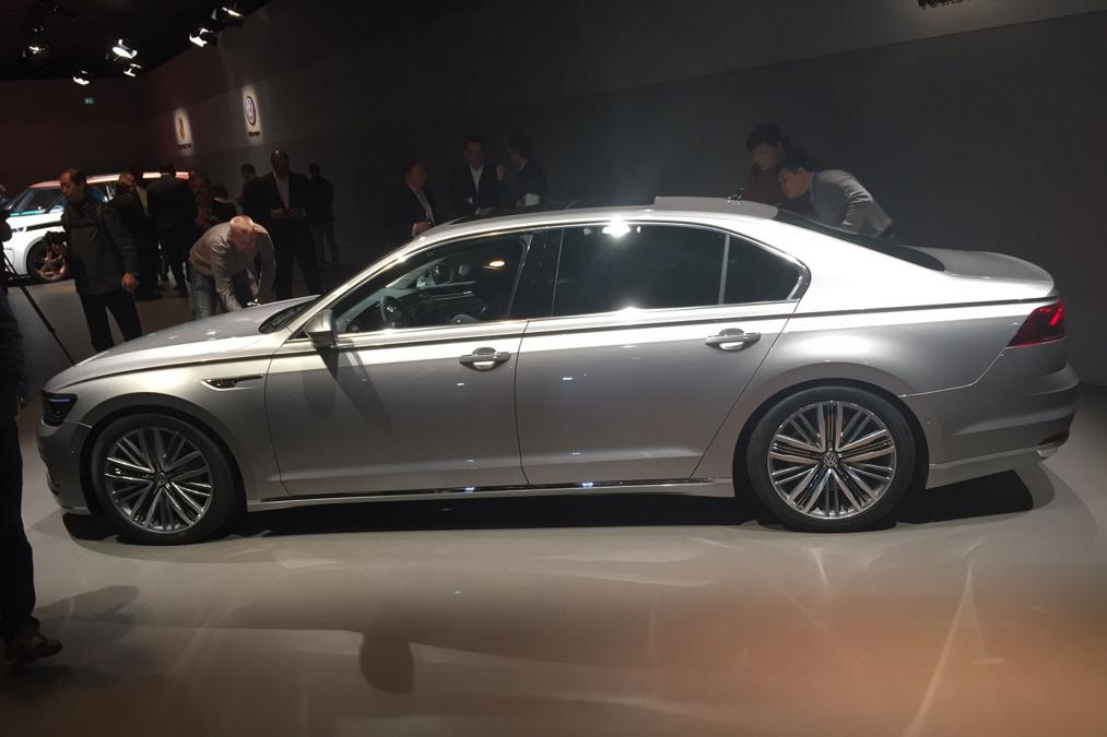 Volkswagen new sedan car revealed at Genva