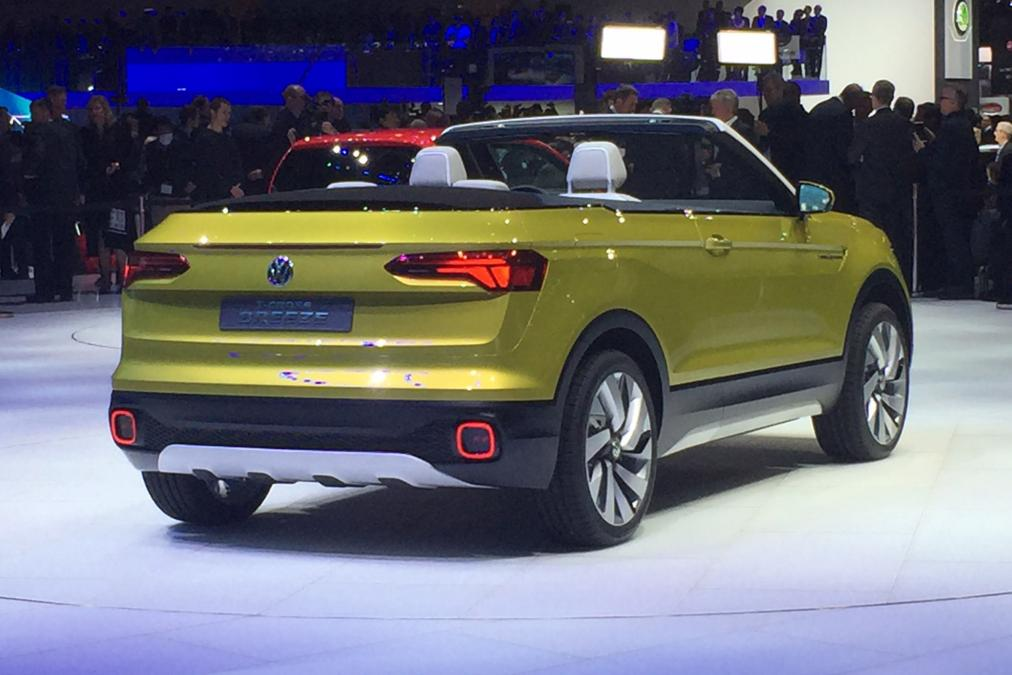 Volkswagen T Cross Breeze convertible concept car
