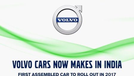 Volvo Cars to start Local Assembly for its Indian Lineup