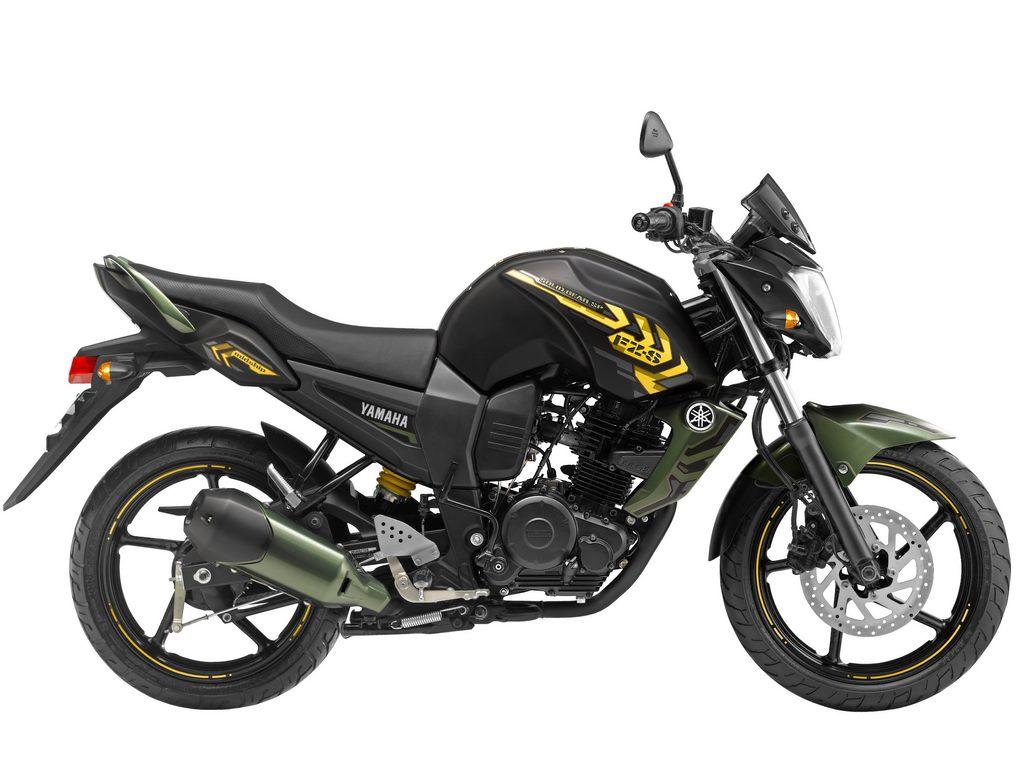 Yamaha Fz Military Green On Road Price