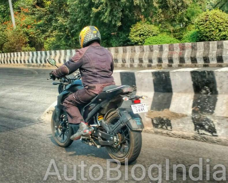 Yamaha MT-03 spotted