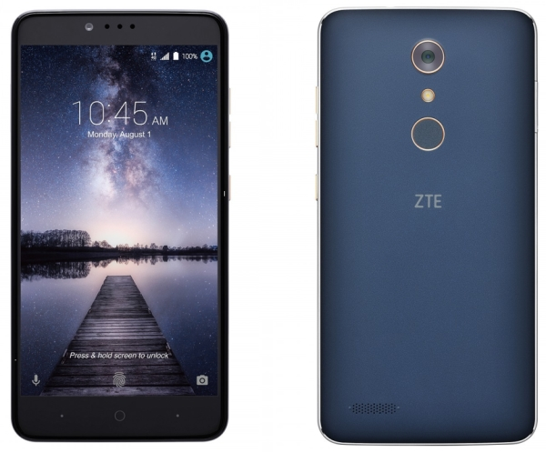Zte Unveiled Zmax Pro With Fingerprint Sensor For Inr 6 600