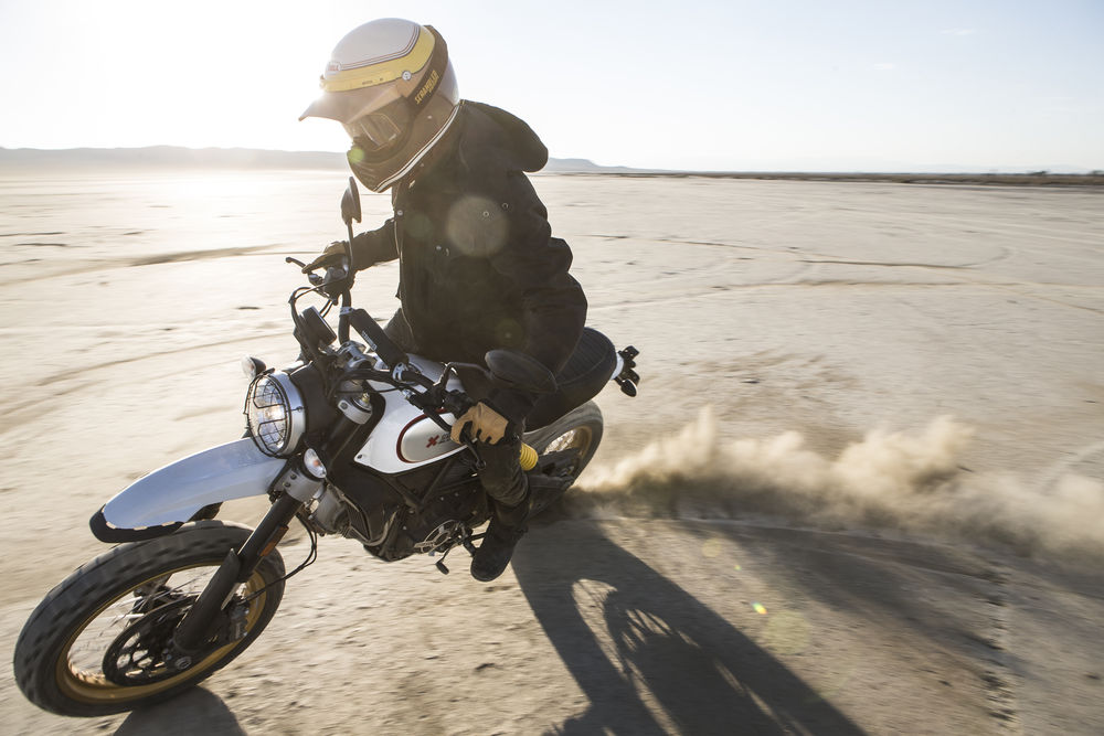 Ducati Scrambler Desert Sled in Action