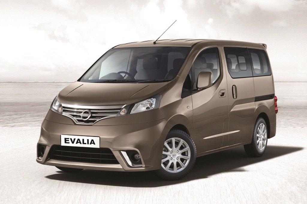 nissan launches evalia sv variant as top model. Black Bedroom Furniture Sets. Home Design Ideas