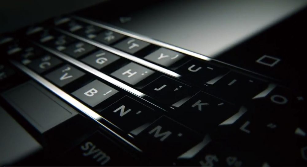 Blackberry DTEK70 with QWERTY keypad