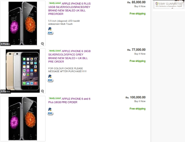 iPhone 6 Price in India and the Availability! Mysterious and Mystifying