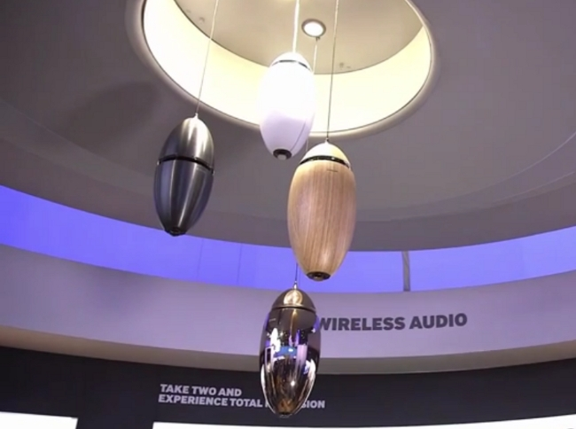 Samsung Speakers at CES 2015