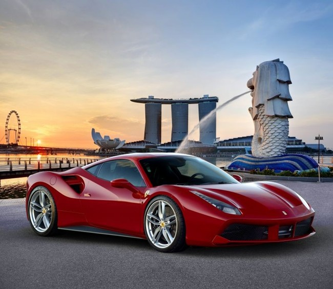 ferrari 488 gtb all set to be launched in india this month. Black Bedroom Furniture Sets. Home Design Ideas
