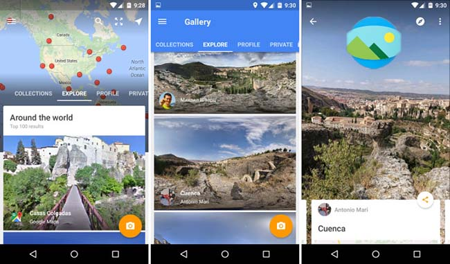 how to make google maps sphere