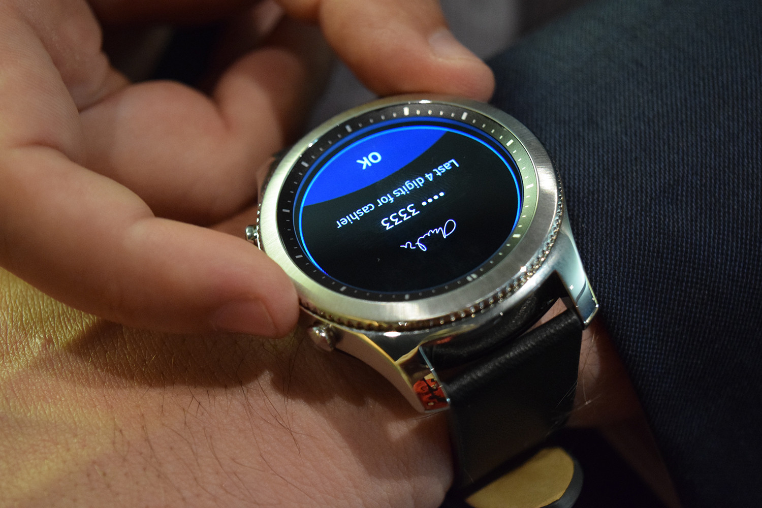 samsung launches gear s3 classic gear s3 frontier. Black Bedroom Furniture Sets. Home Design Ideas