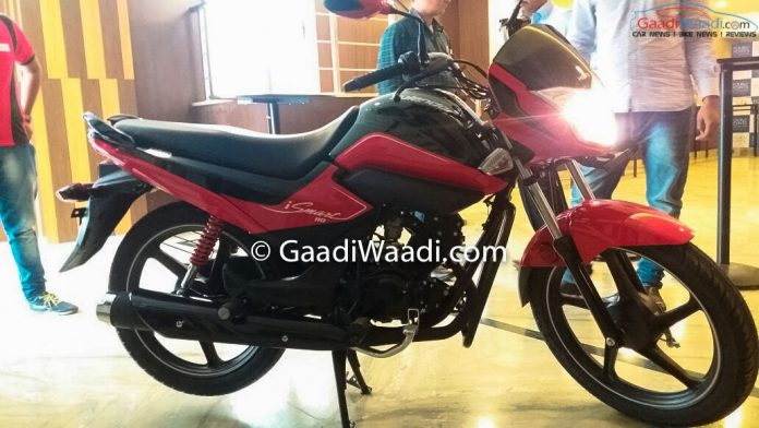2016 hero splendor ismart spotted at dealership launch soon - Hero splendor ismart mileage per liter ...