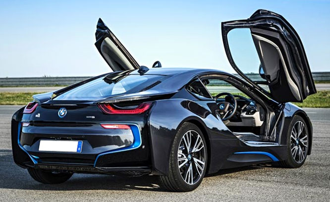 Bmw Introducing I8 Hybrid Supercar Sagmart