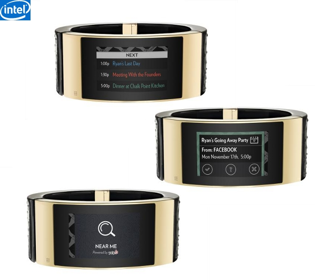 Intel MICA Smart Bracelet, A perfect Combination of Style ...