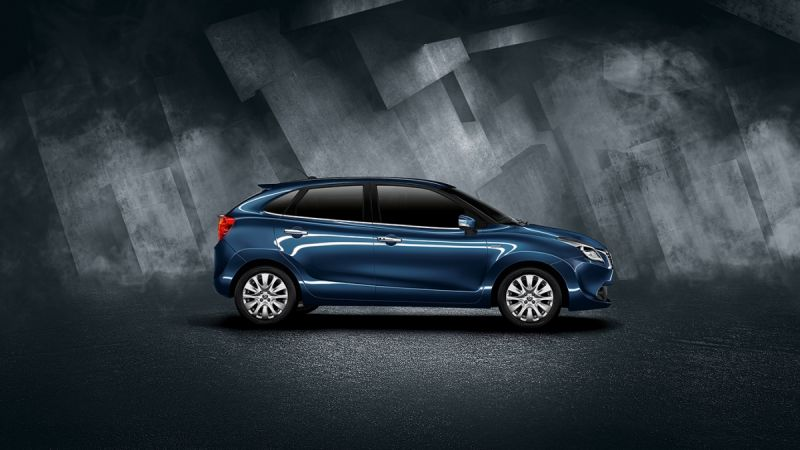 Maruti Baleno Side View