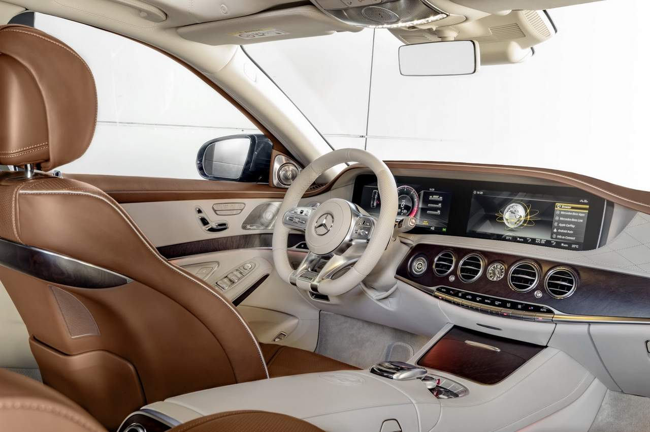 Mercedes S65 AMG Facelift interior