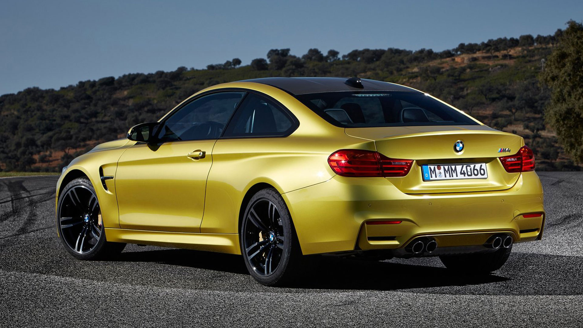 bmw m4 coupe caught testing. Black Bedroom Furniture Sets. Home Design Ideas