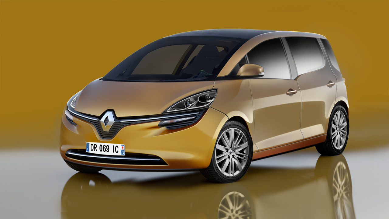 renault scenic to make its way to the geneva motor show. Black Bedroom Furniture Sets. Home Design Ideas