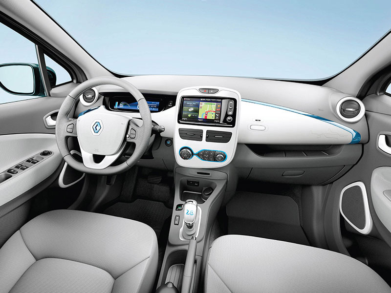 Renault Zoe Interior Space