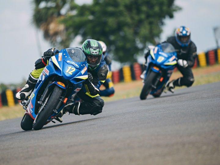 suzuki gixxer racing