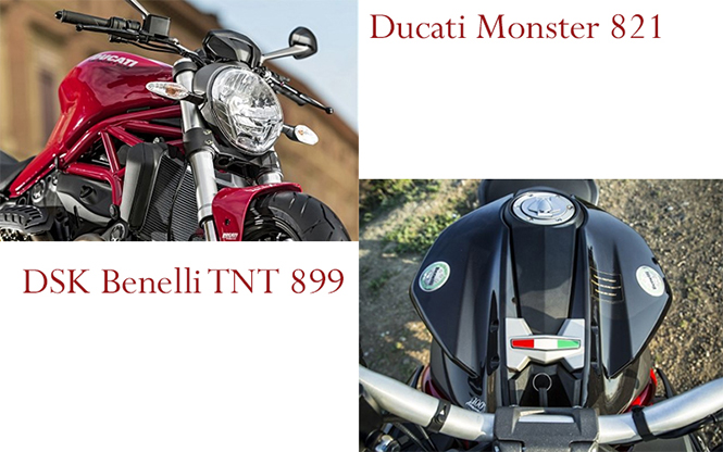 TNT 899 vs Monster 821 - Design and Style