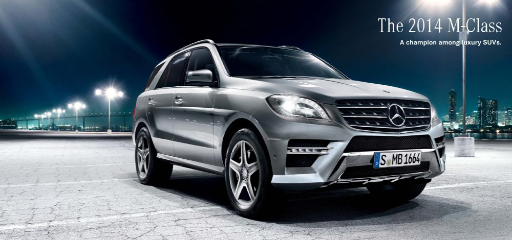Mercedes benz m class suv spotted for Mercedes benz m class mercedes suv