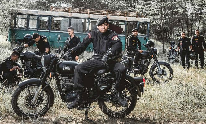 Royal Enfield India Army